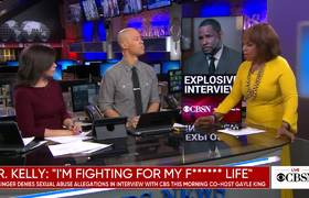 Gayle King talks about her explosive R. Kelly interview on CBSN