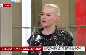 Rose McGowan speaks out on the 'fear' in Hollywood