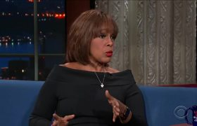 Late Show: Gayle King Also Spoke To R. Kelly's Girlfriends