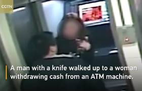 Robber returns money to woman after seeing her bank account was empty