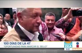 AMLO cumple 100 días como presidente de México