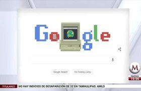 Google celebra 30 años del Internet