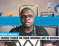 Mujer asiste al funeral de su prometido que era el mismo dia de su boda vestida de novia