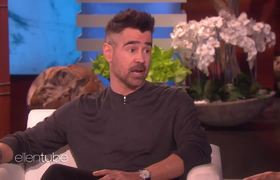 Ellen Show: Colin Farrell's Kids Were Ready for Him to Go Back to Work After Year-Long Break