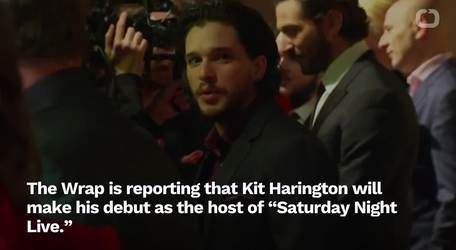 Kit Harington To Make 'SNL' Hosting Debut In April