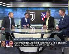 Reaction - Cristiano Ronaldo hat trick in Juventus vs. Atletico Madrid