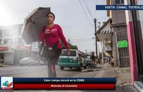 Calor rompe récord en la CDMX
