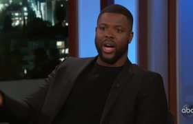 Winston Duke's Mom Goes Everywhere with Him