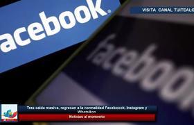 Tras caída masiva, regresan a la normalidad Faceboook, Instagram y WhatsApp