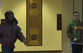 Actor Jussie Smollett makes brief court appearance