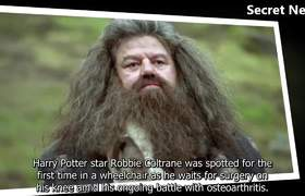 Robbie Coltrane is discovered looks heavy in wheelchair because of osteoarthritis