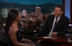 Angela Bassett Gets the Wakanda Salute from EVERYONE