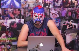 Escorpión reacciona a madriz@ vs Franco Escamilla en la WWE
