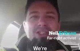 Australian far-right activist says NZ attack was 'karma'