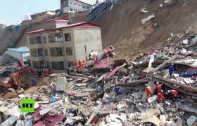 Death toll rises to 15 in north China building collapse, 5 missing