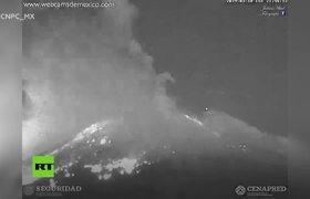 El volcán Popocatépetl registra una de sus explosiones más grandes de los últimos años