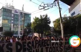 Marchan por estudiantes de cine desaparecidos en Guadalajara, Jalisco