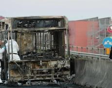 Student Praised After Driver Hijacks Sets Fire To School Bus