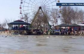 Naufragio de ferry en el Río Tigris Irak deja 54 muertos