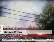 Explota pipa de gas en Milpa Alta