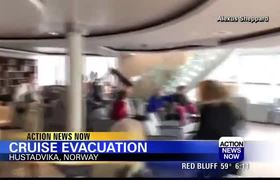 Cruise ship passengers evacuated from the Viking Sky off coast of Norway