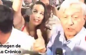 Reporteros INCREPAN a AMLO sobre Jaime Bonilla candidato de Morena