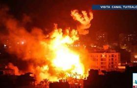 Bombardea Israel instalaciones de Hamas en Gaza