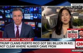 Donald Trump takes swipe at Puerto Rico disaster relief aid again