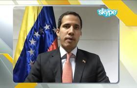Juan Guaidó cuenta a Jorge Ramos qué piensa de una intervención militar en #Venezuela