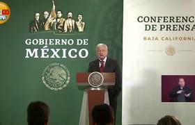 A Pesar Del Desorden #AMLO Atendió La Petición de Esta reportera en Tijuana