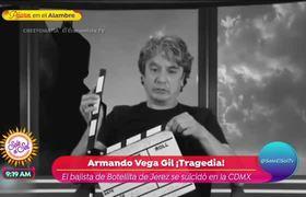 Audio de Armando Vega Gil antes de morir