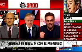José Ramón COMPLETAMENTE AMARGADO por Festejar 3000 Programas y Tener que iniciar Hablando América vs Xolos 4-0