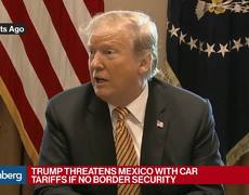 Donald Trump threatens to impose tariffs on cars made in Mexico