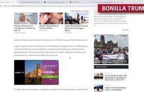 Pruebas de que Jaime Bonilla es REPUBLICANO y juro defender la Constitucion de EU