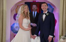 JKL: Jimmy Kimmel & Celine Dion Surprise Couple Getting Married in Las Vegas