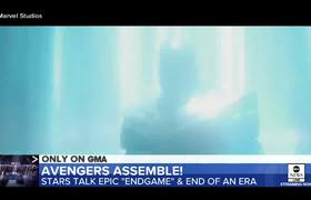 #GMA: 'Avengers: Endgame' cast talks about the film's highly-anticipated debut