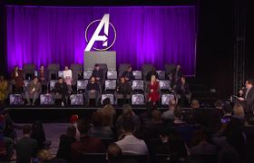 Avengers: Endgame - Conferencia Mundial - Parte 2 of 4