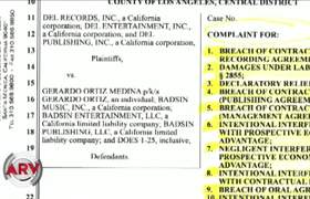 Demandan a Gerardo Ortíz por incumplimiento de contrato