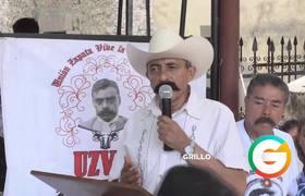 #AMLO no cumple ni es congruente dice nieto de Zapata y AMLO le responde