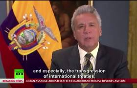 #VIDEO: Ecuador President Lenin Moreno on revoking Julian Assange's asylum