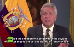 #VIDEO: Lenin Moreno withdraws the diplomatic asylum to Julian Assange