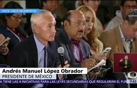 Periodista Jorge Ramos cuestiona a AMLO sobre cifras de violencia en MéxicoPeriodista #JorgeRamos cuestiona a #AMLO sobre cifras de violencia en México