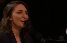 The Late Late Show: Sara Bareilles: Fire