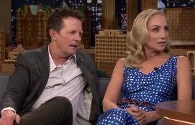 The Tonight Show: Tracy Pollan and Michael J. Fox Reveal Their Secret to a Long Marriage