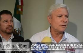 #LordNoEsMiTema la volvió a hacer, Jaime Bonilla evade nuevamente las preguntas