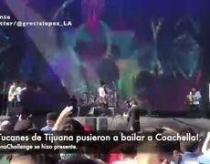 ¡Los Tucanes de Tijuana pusieron a bailar Coachella al ritmo de la Chona