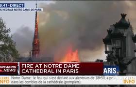Firefighters are considering #NotreDame Cathedral fire an accident