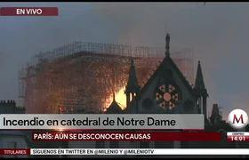 AMLO lamenta incendio de catedral de #NotreDame