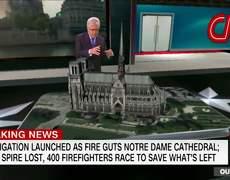 Primeras imagenes dentro de la Catedral de Notre Dame tras el incendio