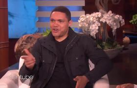 Ellen Show: Trevor Noah Plays 'Who'd You Rather?'